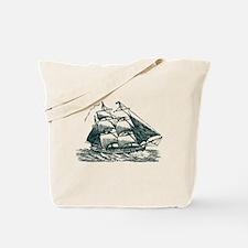 Clipper Ship Tote Bag