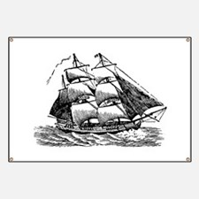 Clipper Ship Banner