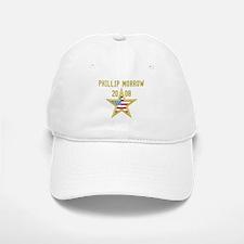 PHILLIP MORROW 08 (gold star) Baseball Baseball Cap