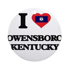 Cute Owensboro Ornament (Round)