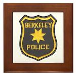 Berkeley Police Framed Tile