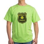 Berkeley Police Green T-Shirt