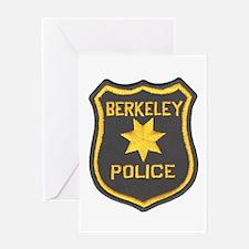 Berkeley Police Greeting Card