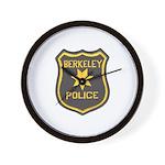 Berkeley Police Wall Clock