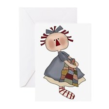 Annie and her Quilt Greeting Cards (Pk of 10)