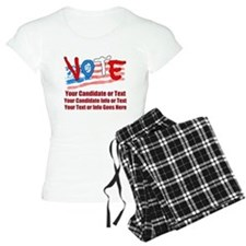 Personalize Your Vote! Women's Light Pajamas