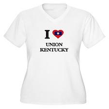 I love Union Kentucky Plus Size T-Shirt