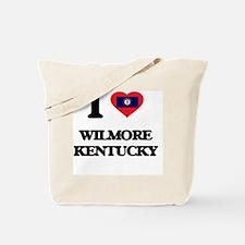 I love Wilmore Kentucky Tote Bag