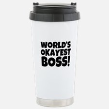 funny men's world's oka Stainless Steel Travel Mug
