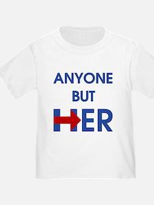 Anyone But Her T-Shirt