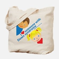 I Love Someone with DS Tote Bag
