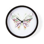 Retro Mod Butterfly Style B6 Wall Clock