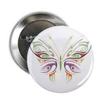 Retro Mod Butterfly Style B6 Button