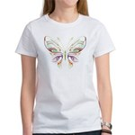 Retro Mod Butterfly Style B6 Women's T-Shirt