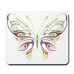 Retro Mod Butterfly Style B6 Mousepad