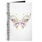 Retro Mod Butterfly Style B6 Journal