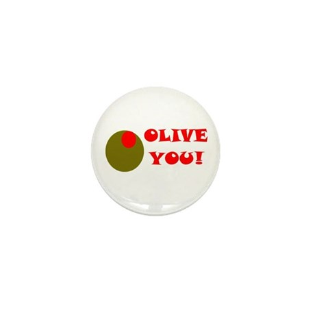 OLIVE YOU Mini Button (100 pack)