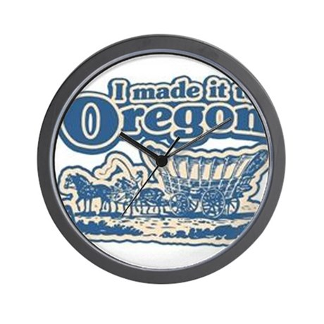 Gifts From Oregon Wall Clock