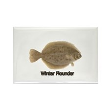 Cute Saltwater fishing Rectangle Magnet (10 pack)