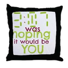 Cute Hopes Throw Pillow
