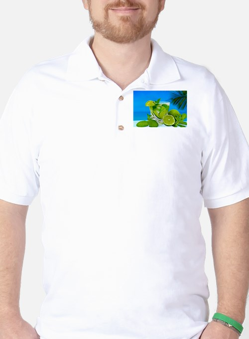 Fresh Water With Lemons And Mint T-Shirt
