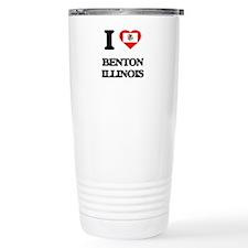 I love Benton Illinois Travel Mug