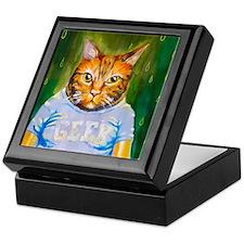Geek Kitty Keepsake Box