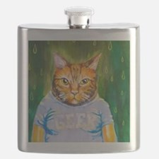 Geek Kitty Flask