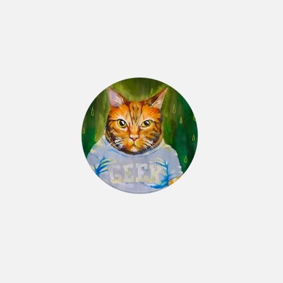 Cool Grumpy cat Mini Button
