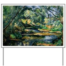 Cezanne - The Brook Yard Sign