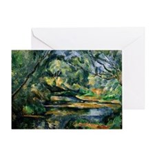 Cezanne - The Brook Greeting Card