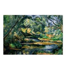 Cezanne - The Brook Postcards (Package of 8)