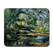 Cezanne - The Brook Mousepad