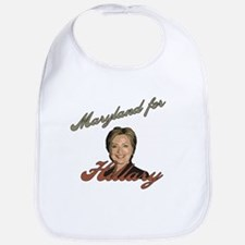 Maryland for Hillary Bib
