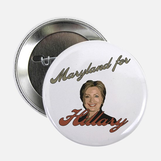 """Maryland for Hillary 2.25"""" Button"""