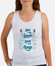 Hula Hoop Dance - Live Laugh Love Hoop – Tank Top