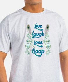 Hula Hoop Dance - Live Laugh Love Hoop – P T-Shirt