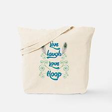 Hula Hoop Dance - Live Laugh Love Hoop – Tote Bag