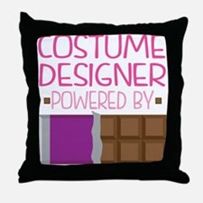 Costume Designer Throw Pillow