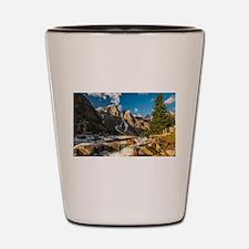 Mountain River Shot Glass