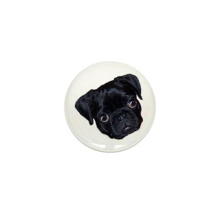 23 Pugs - Halo Mini Button