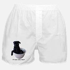23 Pugs - I'll take mine black Boxer Shorts