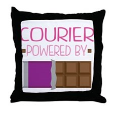 Courier Throw Pillow