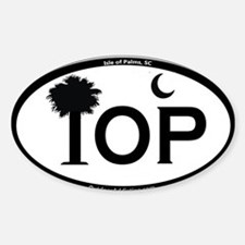 IOP Black and White Flag Design Decal