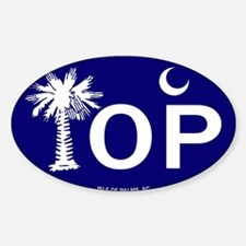 Isle of Palms, SC Flag Decal