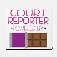 Court Reporter Mousepad