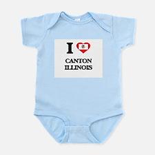 I love Canton Illinois Body Suit