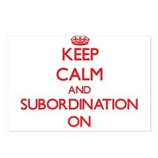 Keep Calm and Subordinati Postcards (Package of 8)