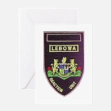 Lebowa Reaction Unit Greeting Card