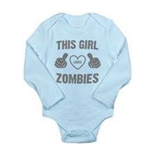 THIS GIRL LOVES ZOMBIES Body Suit